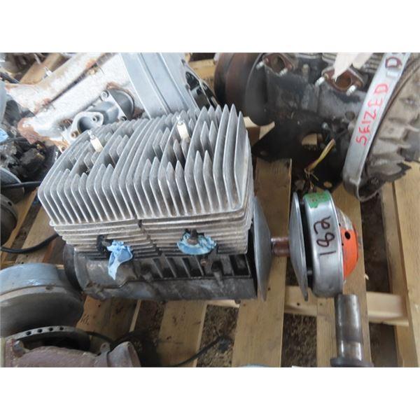Ski Doo 436 3 Air 2 Cyl Snowmobile Engine - Turns Over