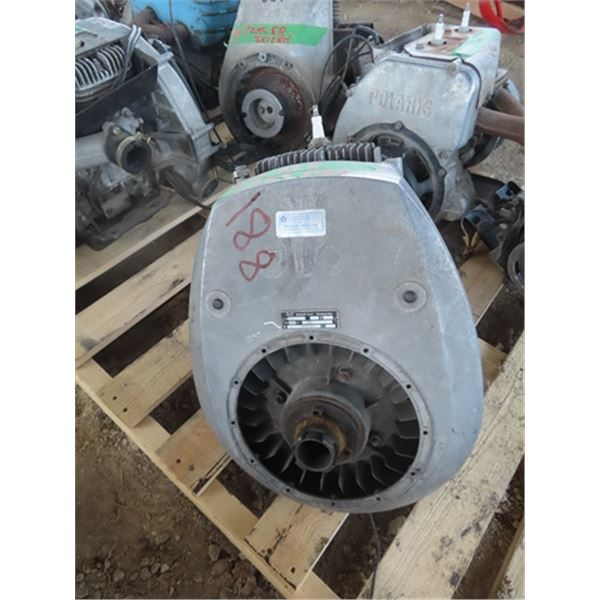 JLO 372 1 Cyl Snowmobile Engine Turns Over