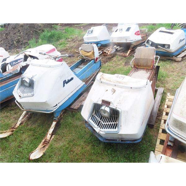 2 Items - 1969 Polaris Colt 1 Cyl Polaris - Engine 1969 Polaris Charger - No Engine