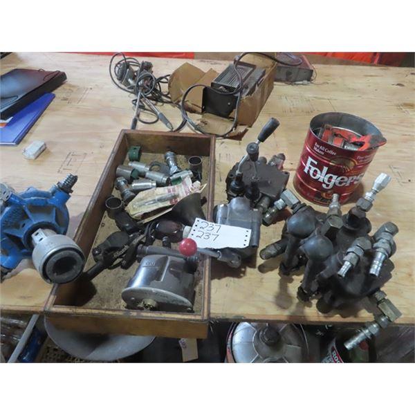 Hyd Controls, Hyd FIttings, & Hyd Pump