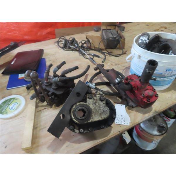 2 Items - Hyd Pump  & Hyd Control