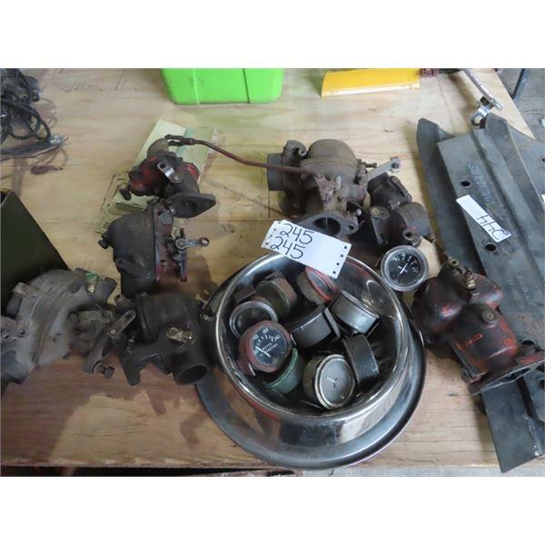 Old Tractor Gauges & Carbureators