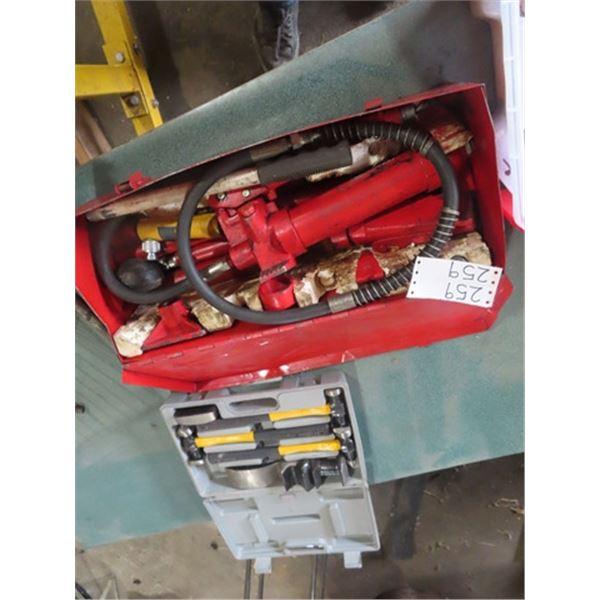 Hyd 2 Ton Autobody Ram, & Hand Autobody Tools