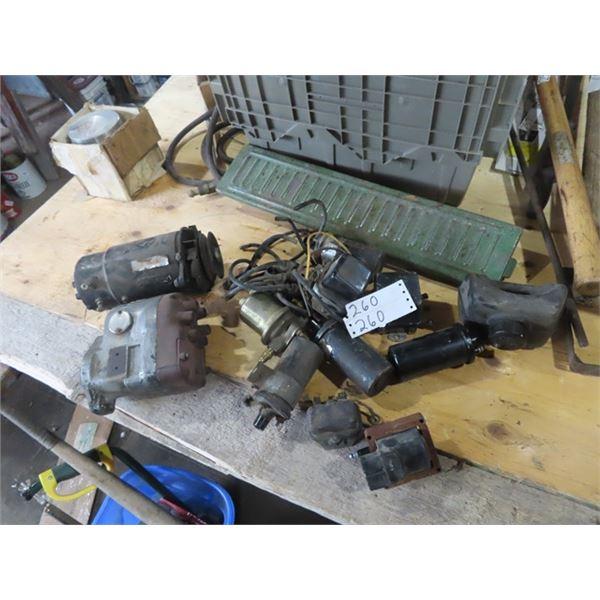 Tractor Magneto Generator, Coils, JD Battery Box Lid, TD 14 Piston