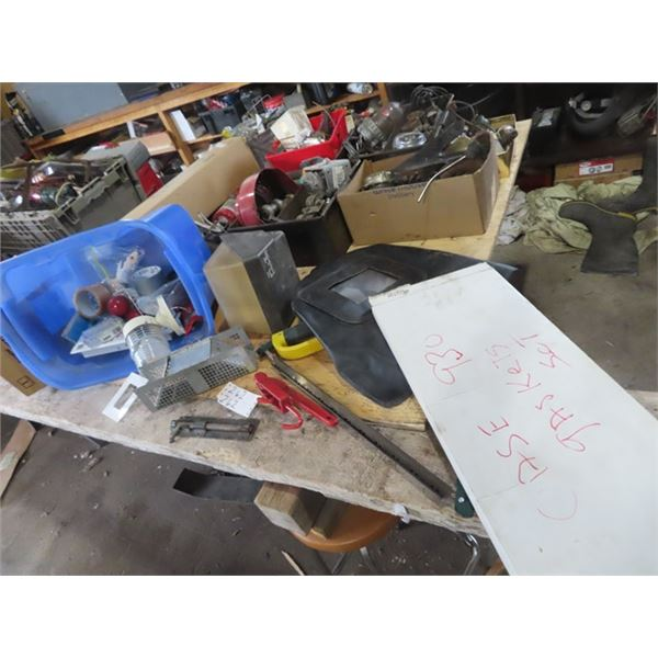 Small Live Trap, Sand Blaster Mask, Electrical Case 930 Gasket Set