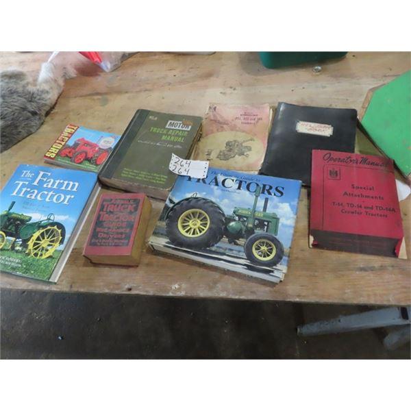 Farm Tractor Books, Manuals, Truck & Tractor Guide,  &  Truck Repair