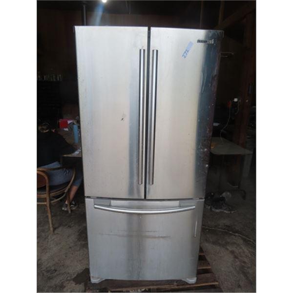 SS Samsung Side x Side Fridge w Bottom Freezer
