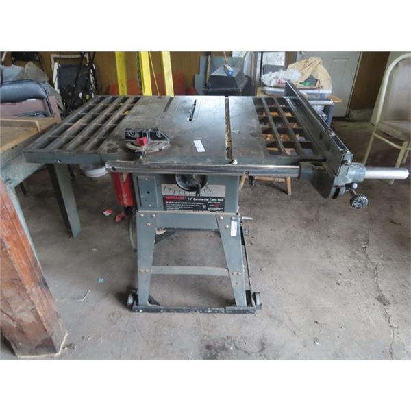 """Shopcraft 2 HP 10"""" Commerical Table Saw"""
