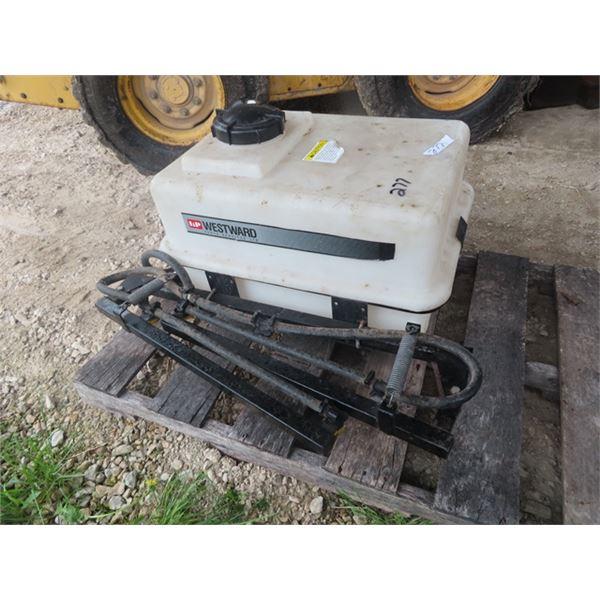 Westward ATV 12 Volt Sprayer w Spring Loaded Booms