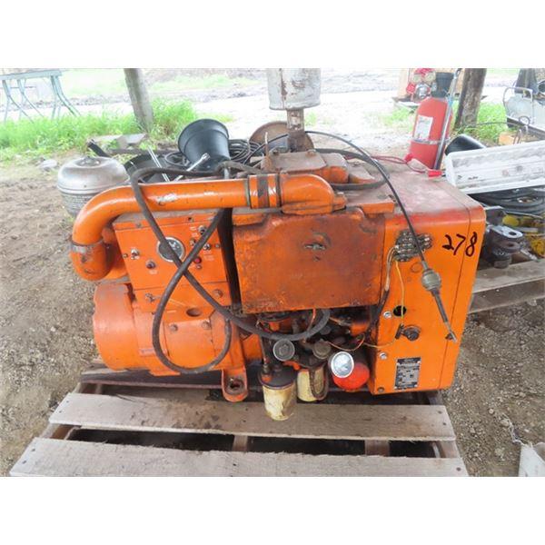 Onan Diesel 5 KW Generator - Not Running From Sitting