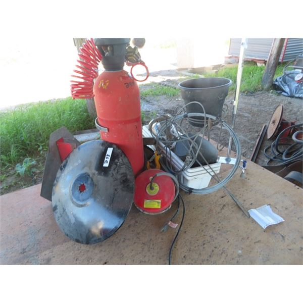 New 19  Disk, Cable, Floating Water Trough Heater, Planter Plus More!