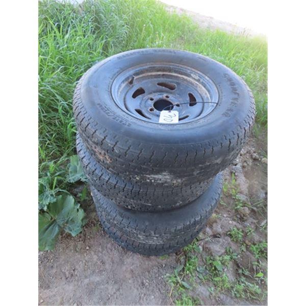 4 Tires & Rims 215/75 R14