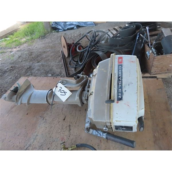 Chrysler 5 HP Outboard - Working When Put in Storage Long TIme Ago