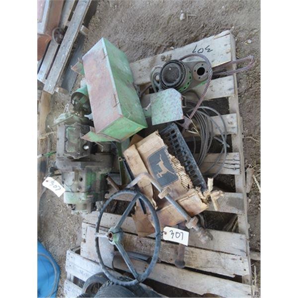 JD Pup Engine Parts, Carbureators, Pallet JD Parts