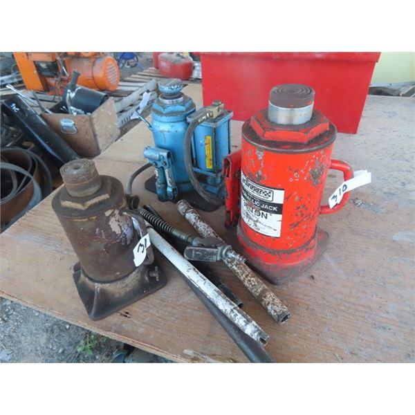 Air/Hyd 20 Jack, 30 Ton Hyd Jack & Hyd Jack - 10 Ton