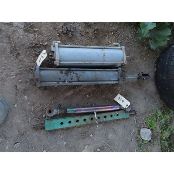 2 Air Cylinders, 3PH Draw Bar & 3PH Stabilizing Bar