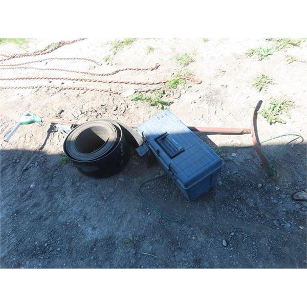 Calf Pullers, Tool Box, & Belting
