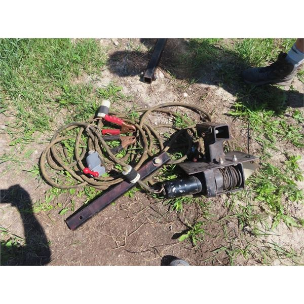 Winch w Control & Adapter Approx 3000LB