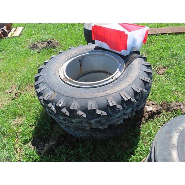 2 Tires & Rims - 1 New -1000 - 20
