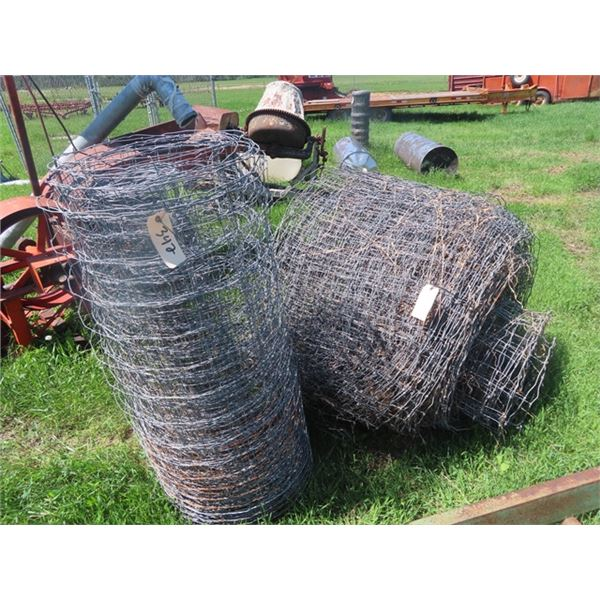 """2 Rolls of Page Wire 1) 36"""" & 1) 48"""""""