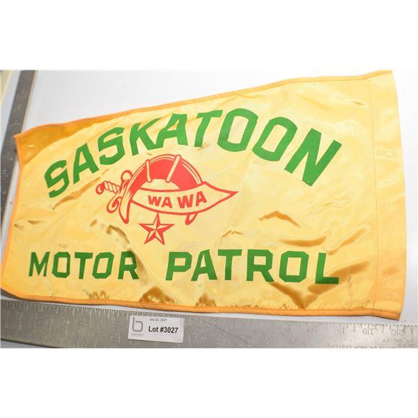 SASKATOON SHRINER PARADE MOTOR FLAG