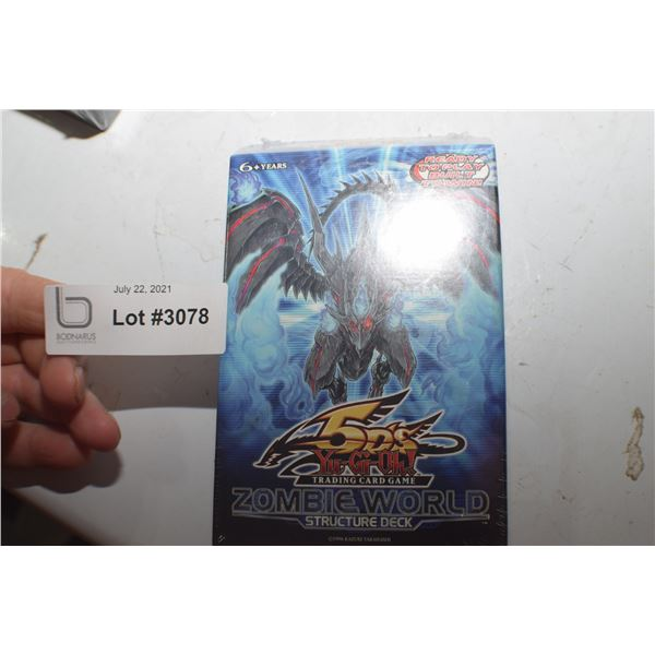 YU-GI-OH TRADING CARD NOS STRUCTURE DECK
