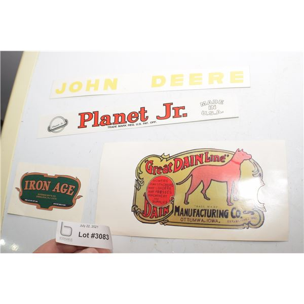 AG/ TRACTOR DECAL LOT