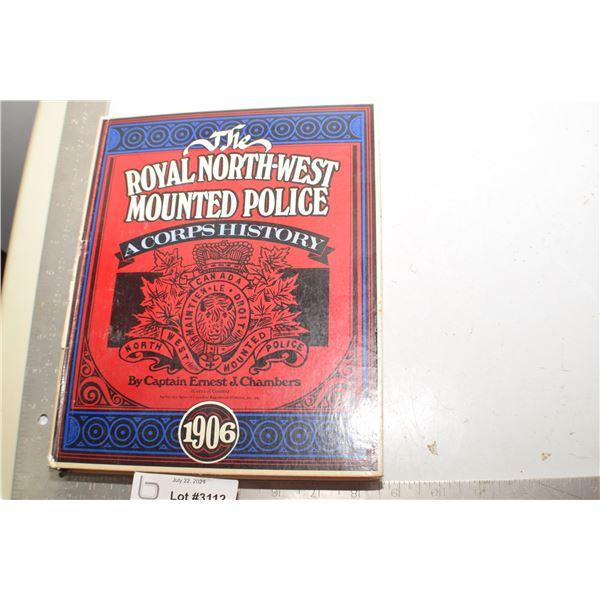 RNWMP POLICE 1973 BOOK