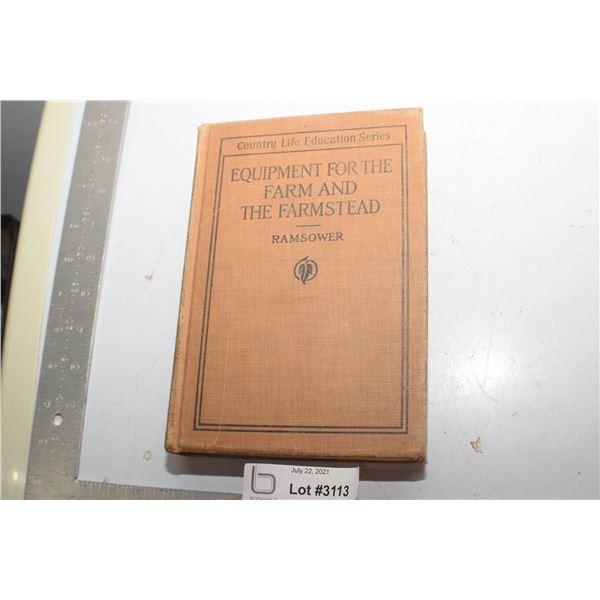 1917 EQUIPMENT FOR THE FARM BOOK