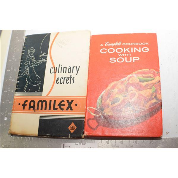 VINTAGE COOKING RECIPE BOOK