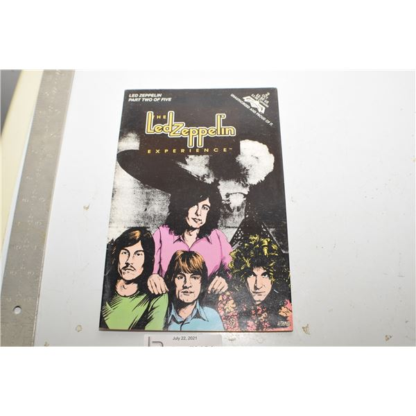 LED ZEPPELIN 1992 COMIC BOOK