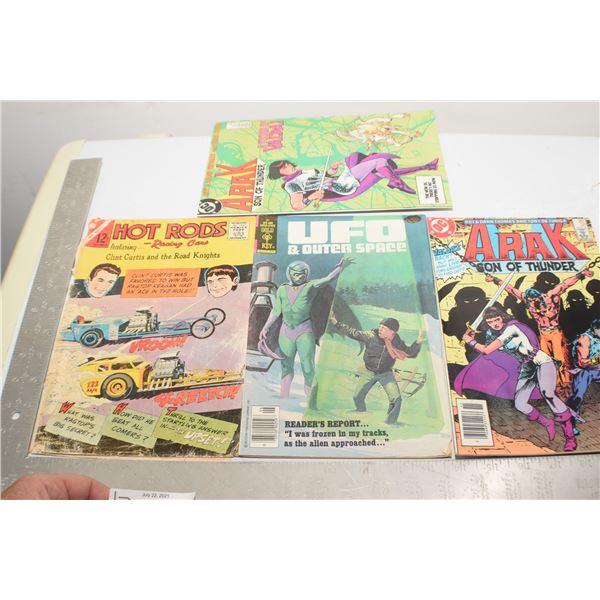 VINTAGE COMICS X 4