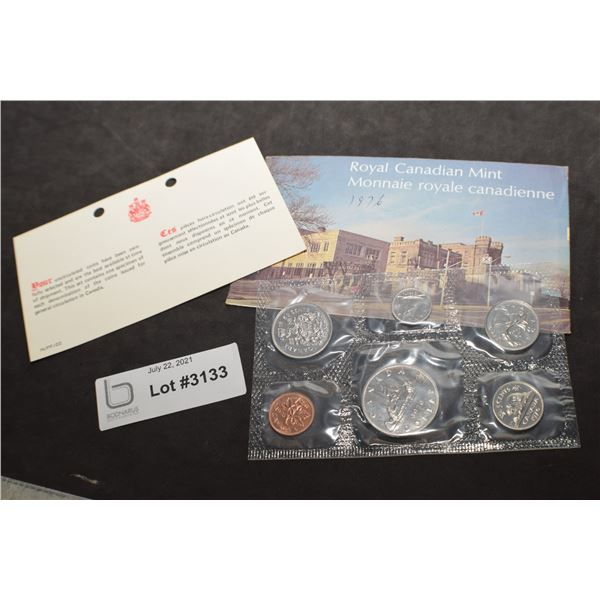 CANADA CANADIAN UNCIRCULATED COIN SET 1976