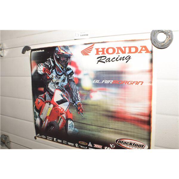 HONDA CANADA MOTORCYCLE POSTER