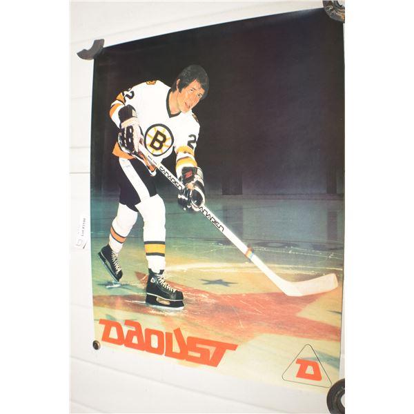 VINTAGE DAOUST SKATES NHL BOSTON BRUINS BRAD PARK