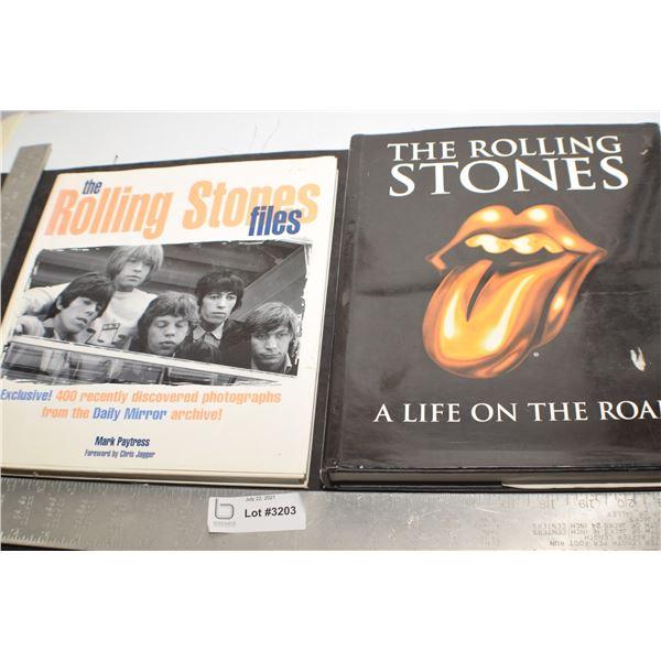 ROLLING STONES HARDCOVER BOOKS 1 IS BRITISH