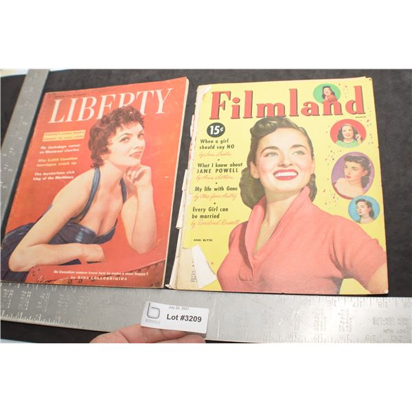 HOLLYWOOD MAGAZINES ONE HAS LOOSE COVER