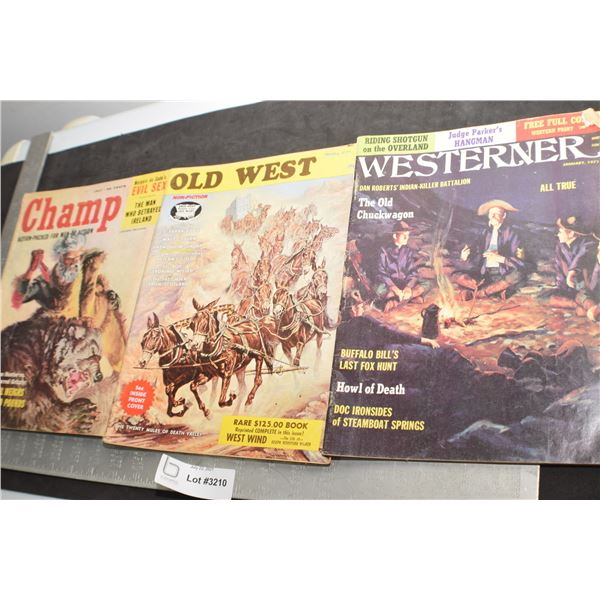 OLD WEST MAGAZINES