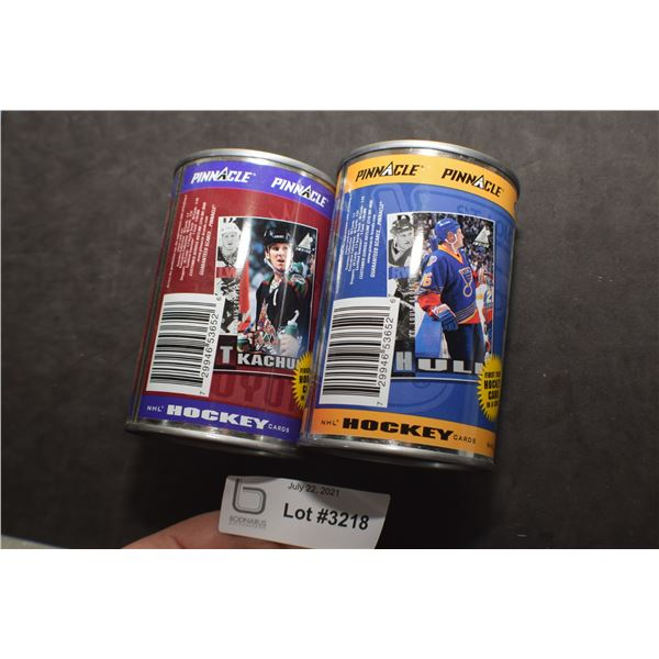 NOS PINNACLE HOCKEY CARDS IN CANS