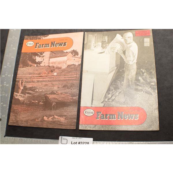 1950 ESSO NEWS / FARM