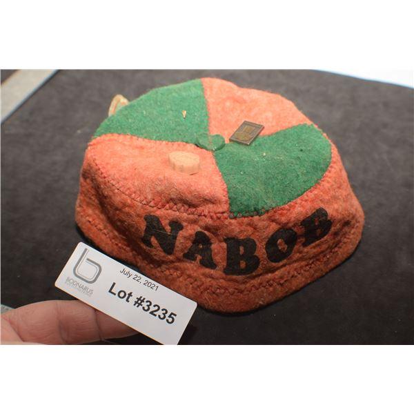 NABOB COFFEE ANTIQUE BEANIE