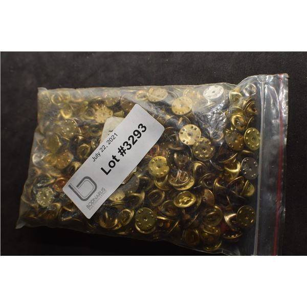 100 PINS BACKING FASTENERS