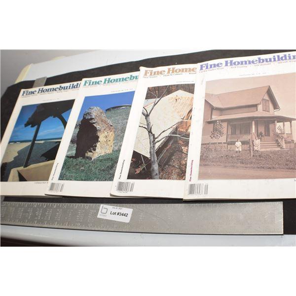 FINE HOME BUILDING MAGAZINES