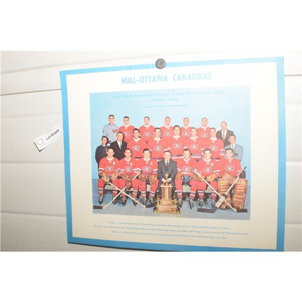 HULL CANADIENS HOCKEY PICTURE