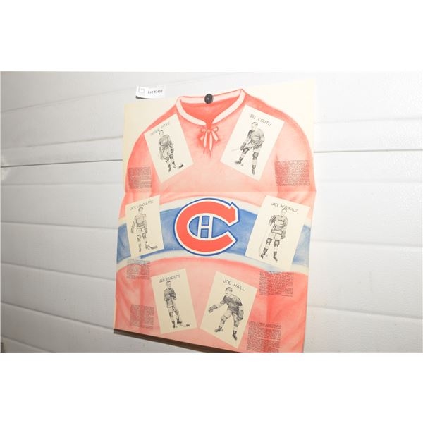 MONTREAL  CANADIENS HOCKEY PICTURE