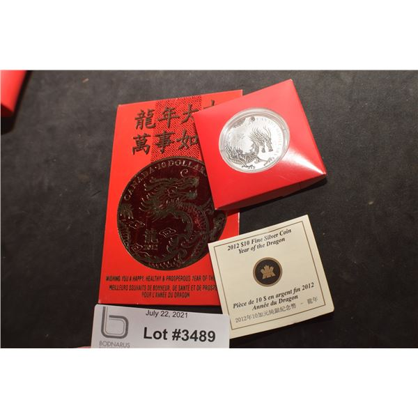 CANADA  $10 DOLLAR FINE STERLING SILVER COIN..15.87 GRAMS