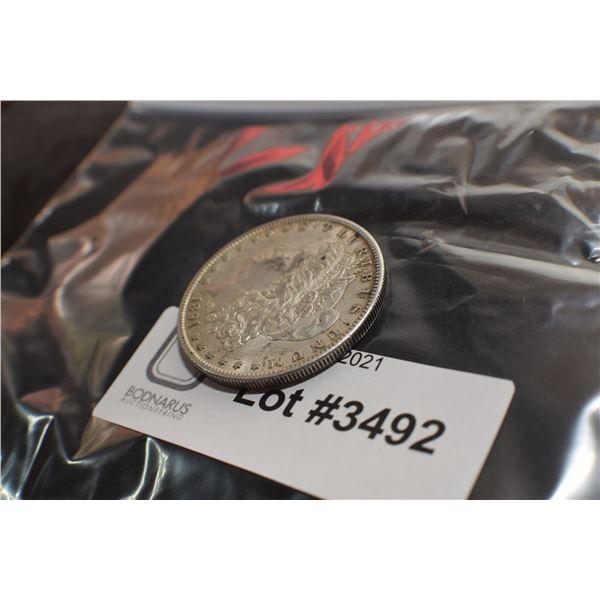 1891  USA SILVER DOLLAR COIN
