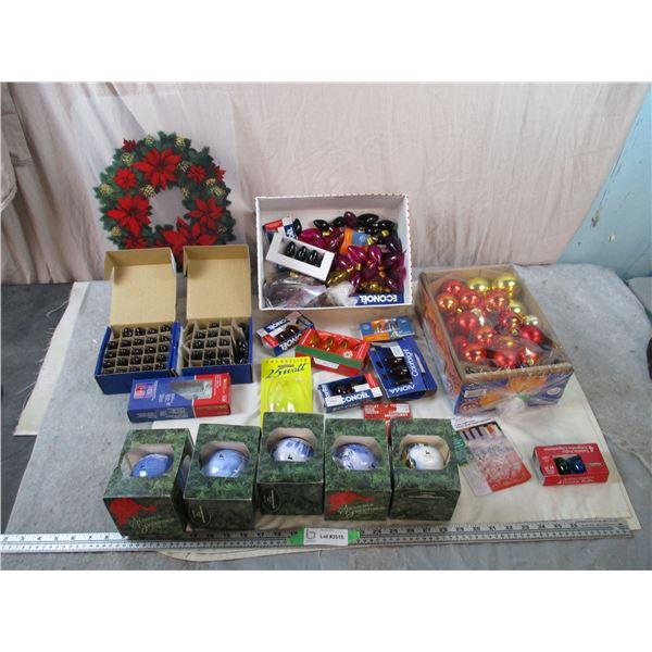 John Deere Christmas Bulbs - Christmas Lights + misc bulbs