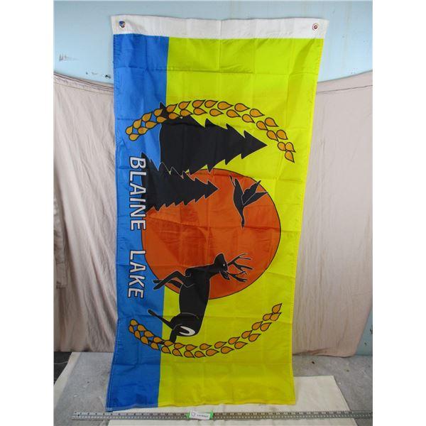 """Blaine Lake Flag - 27x54"""""""