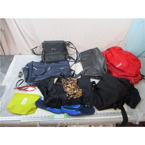 Swim Gear, Travel bags, Purses
